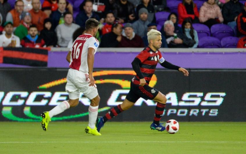 Ajax x Flamengo - Diego