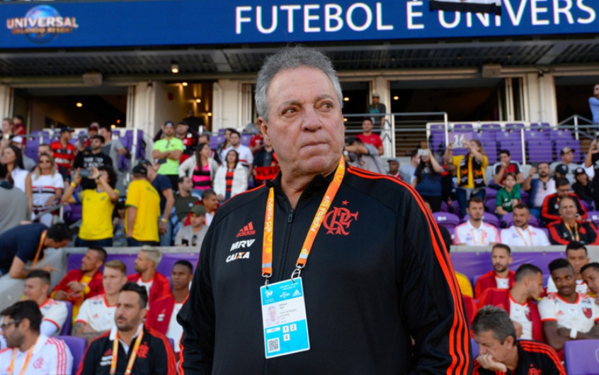 Flamengo x Frankfurt - Abel Braga