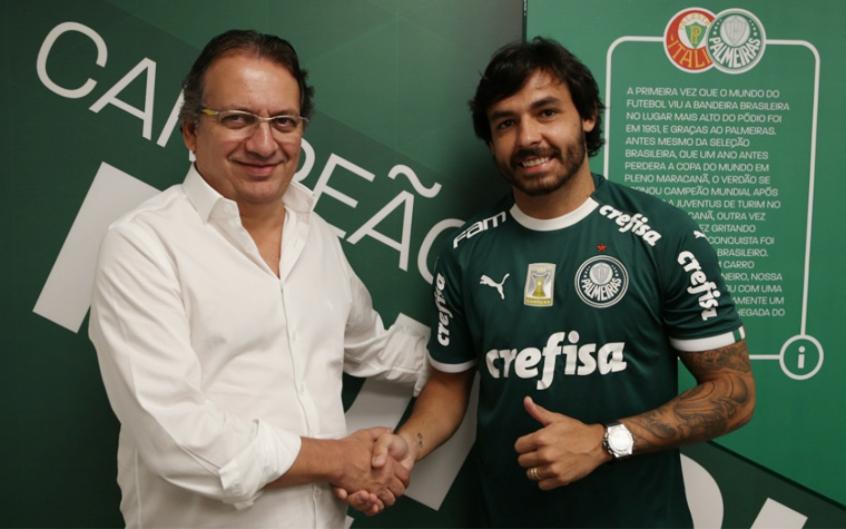 5aa2cd0dbb152 Ricardo Goulart surpreende e pode estrear no Palmeiras antes do ...