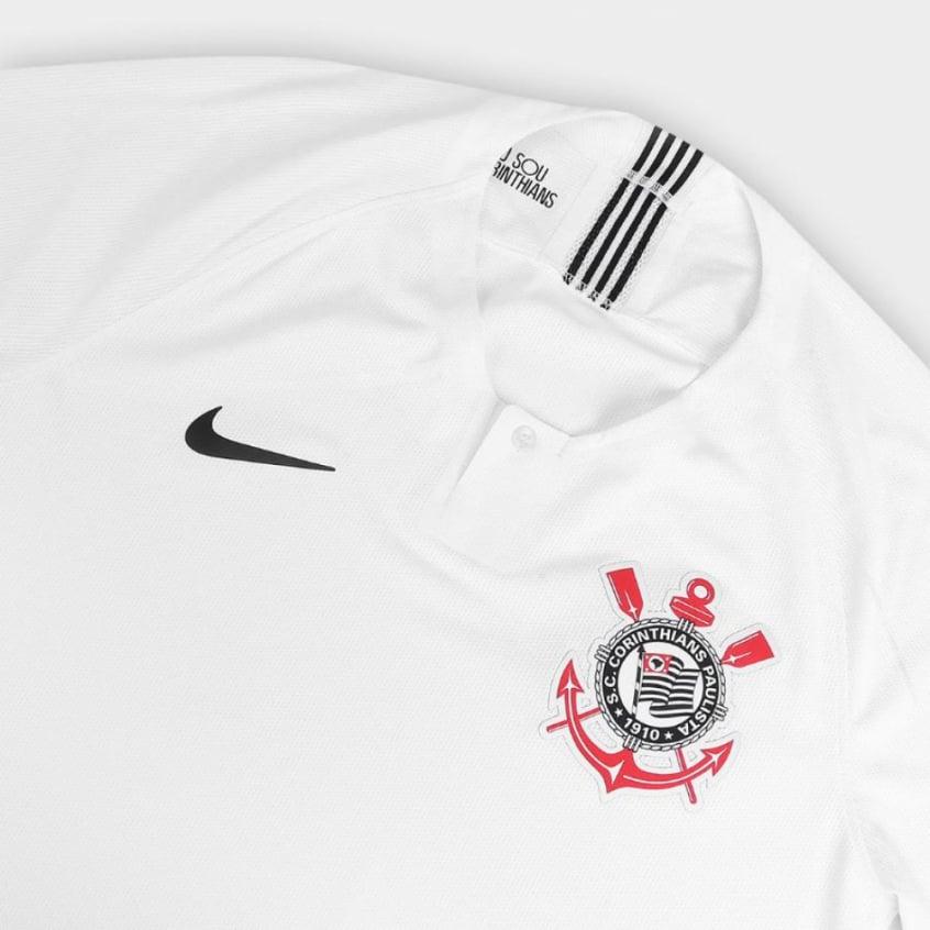 Corinthians anuncia patrocinador para barra traseira da camisa  6a1d397186d71
