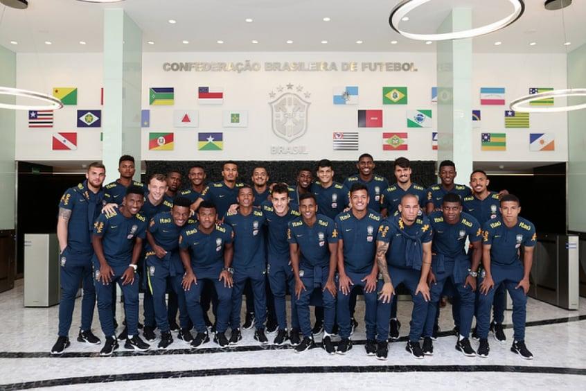 Numeração da Seleção Brasileira Sub-20 é divulgada  Rodrygo é o 10 ... ce6f2539bf39e