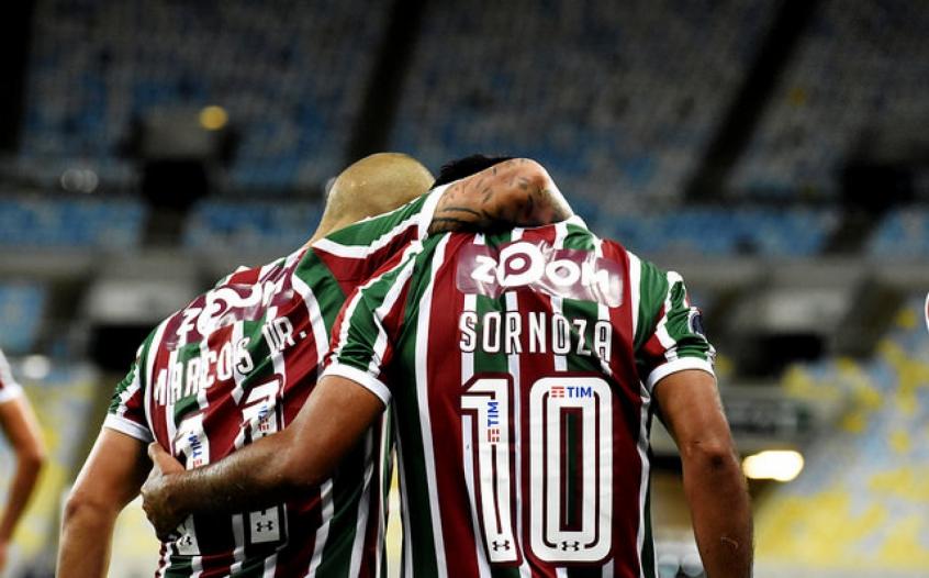 Sornoza era o antigo camisa 10 do Fluminense (Foto  MAILSON  SANTANA FLUMINENSE FC.) 45394dff50ad0
