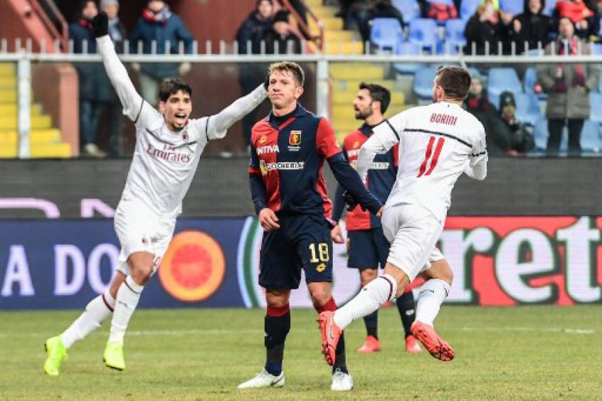 1c8ac653f6 Paquetá e Borini - Genoa x Milan