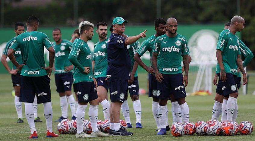 a7e1d2f3b Felipão segue com as principais peças do Brasileiro de 2018 e ainda ganhou  reforços (Cesar Greco/Agência Palmeiras)