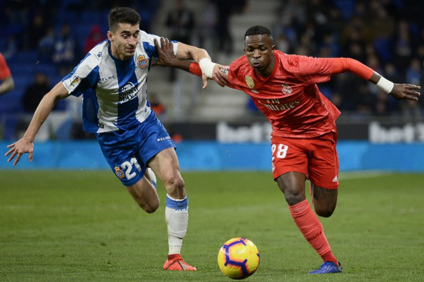 Vinicius Junior - Espanyol x Real Madrid