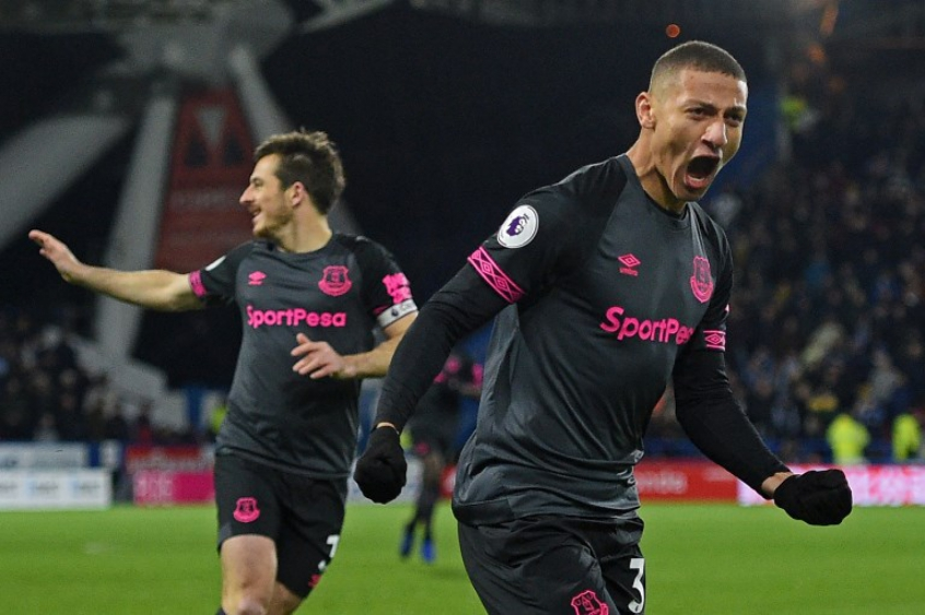 Everton x Huddersfield - Richarlison