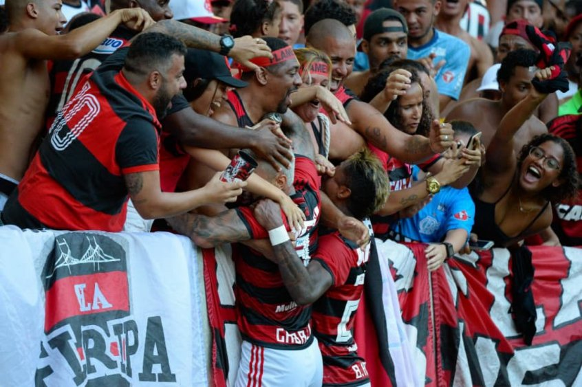 Bruno Henrique e Gabigol - Torcida do Flamengo