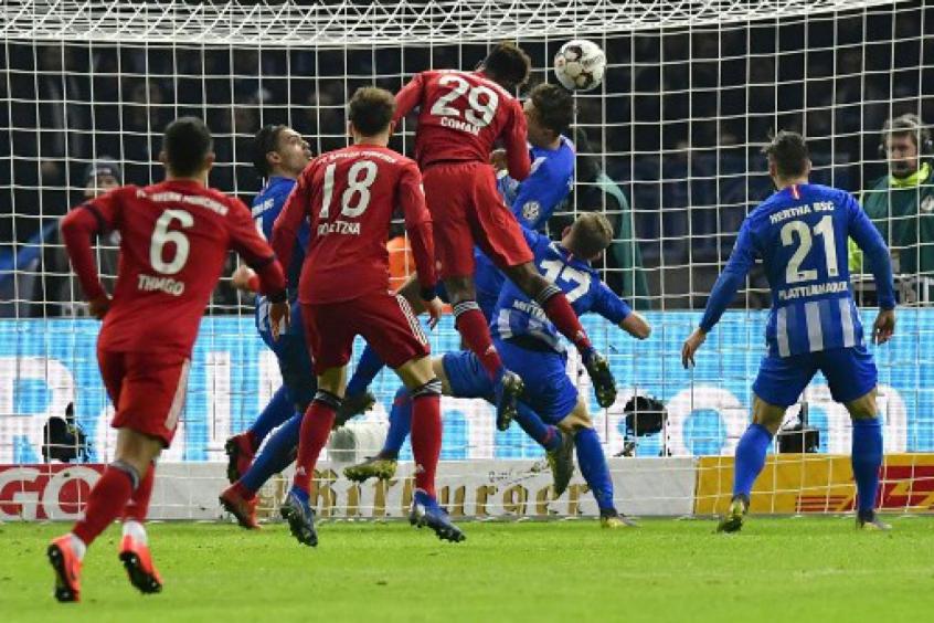 10816bc33b Bayern bate o Hertha na prorrogação e avança na Copa da Alemanha ...