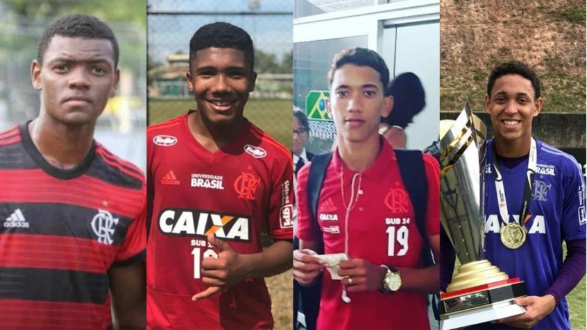 Jogadores Flamengo