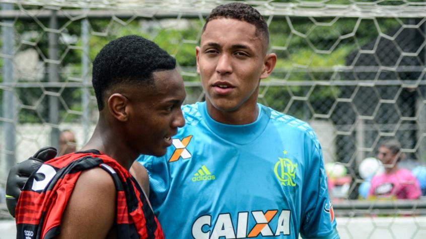 Jorge Eduardo e Christian Esmério Flamengo