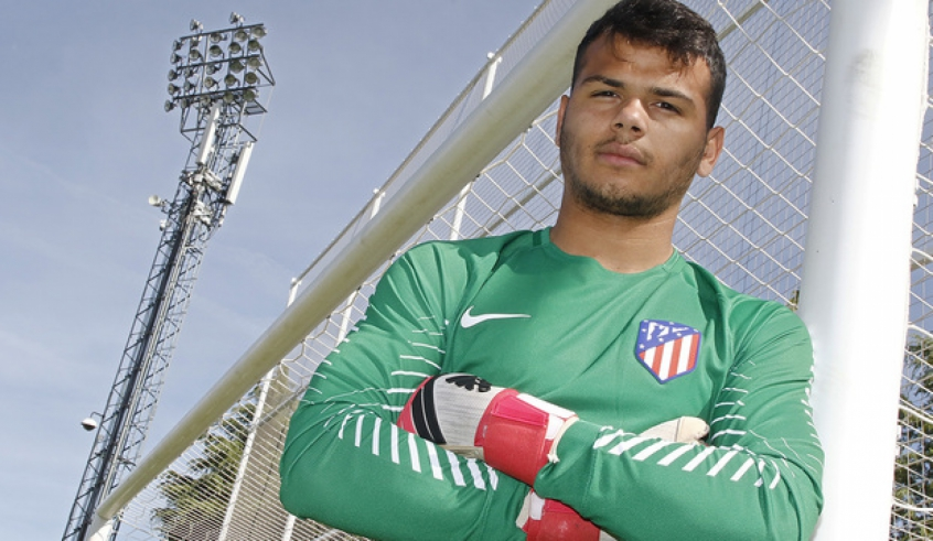 Bilderesultat for alex dos santos atletico madrid
