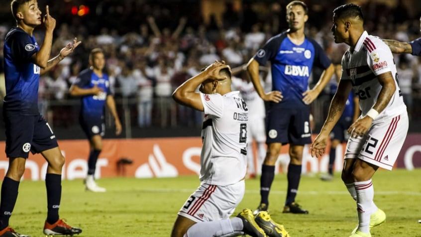 São Paulo x Talleres Diego Souza