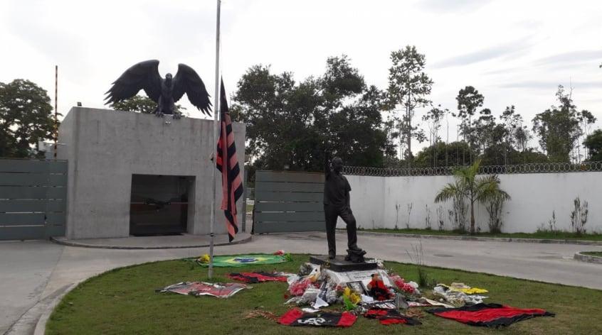 Centro de Esporte Olímpico do Flamengo ajudou familiares das vítimas na tragédia