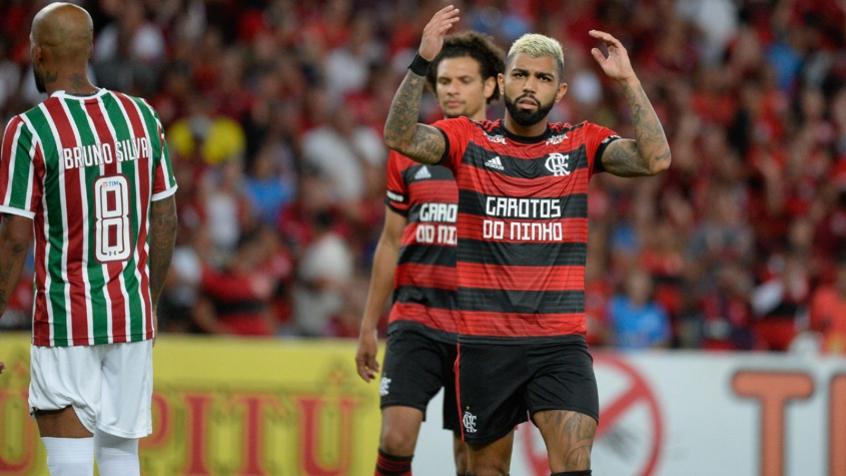 Fluminense x Flamengo Gabigol