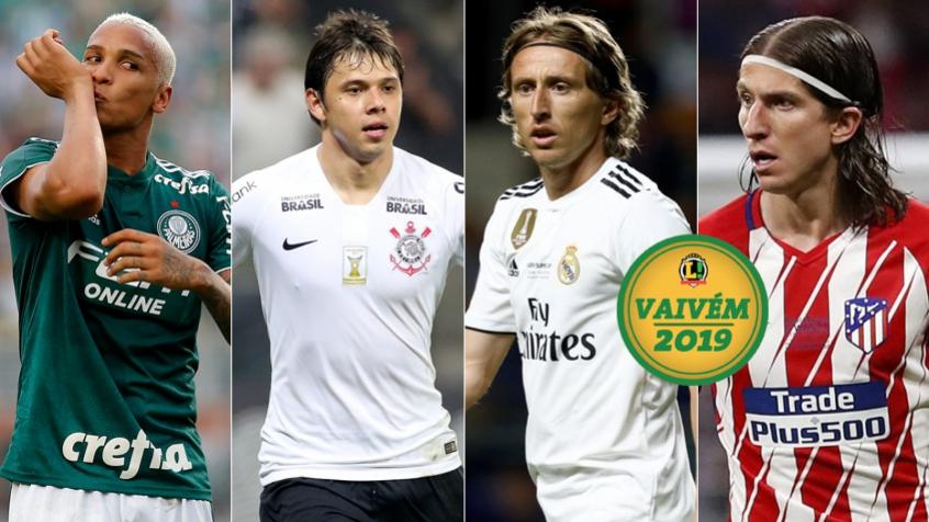 Deyverson, Romero, Modric, Filipe Luís VAIVÉM