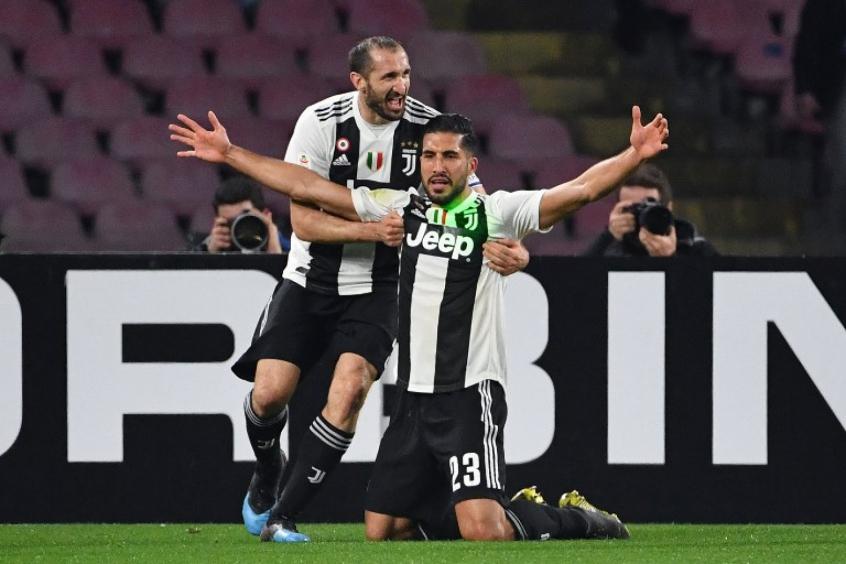 d2cf1eb8cb6cb Juventus bate o vice-líder Napoli e amplia vantagem na ponta do ...
