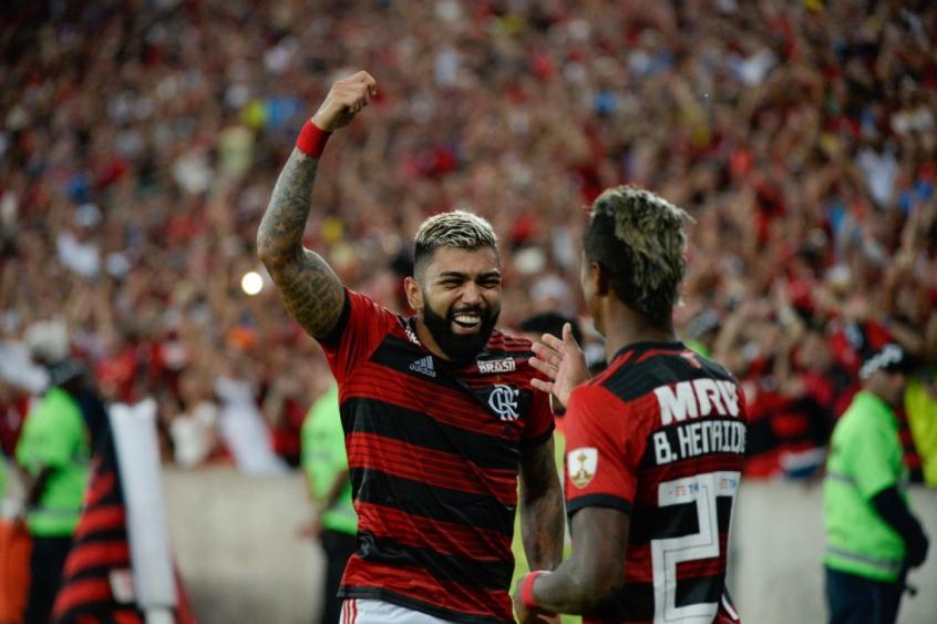 Flamengo x LDU Gabigol