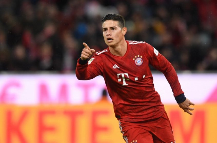 Bayern Munique x Mainz - James Rodríguez