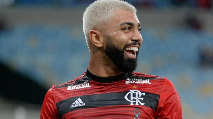 Madureira x Flamengo Gabigol comemoração