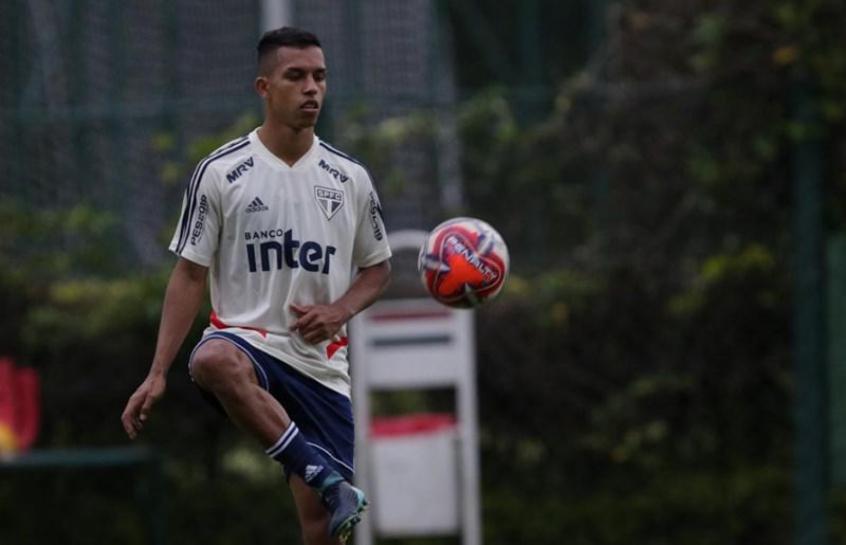 São Paulo treino