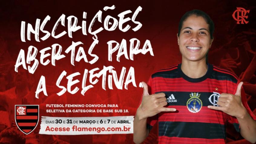 Flamengo - Seletivas do Sub-18 Feminino