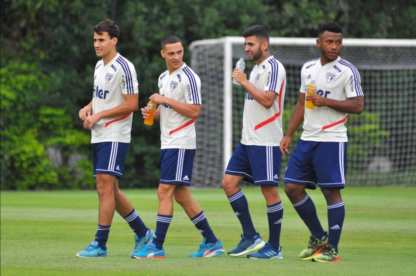 Igor Gomes, Antony, Liziero e Luan