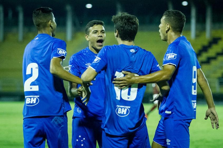 Cruzeiro goleia o Flamengo no Rio e vai à final da Copa do Brasil Sub-20