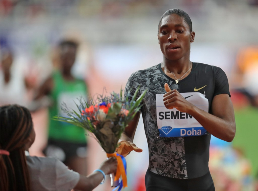 Caster Semenya - Doha da Diamond League