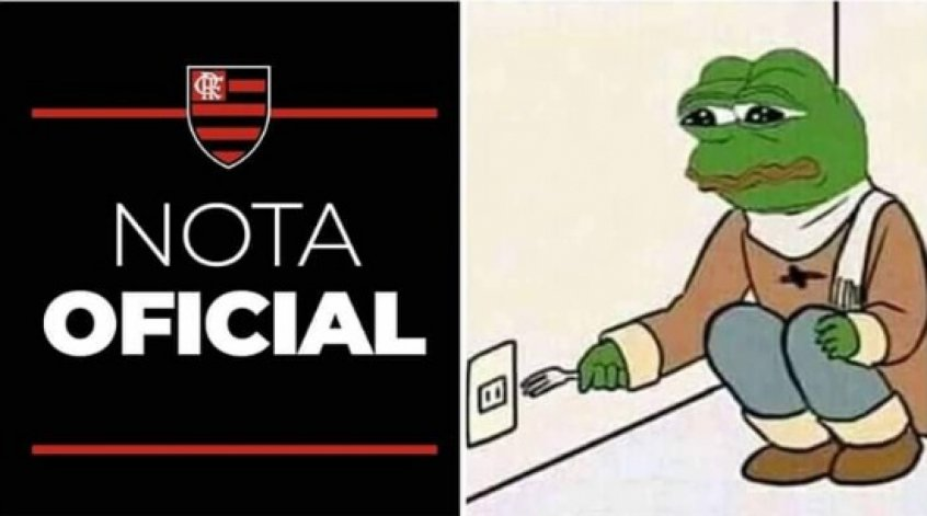 Nota Oficial do Flamengo - Meme