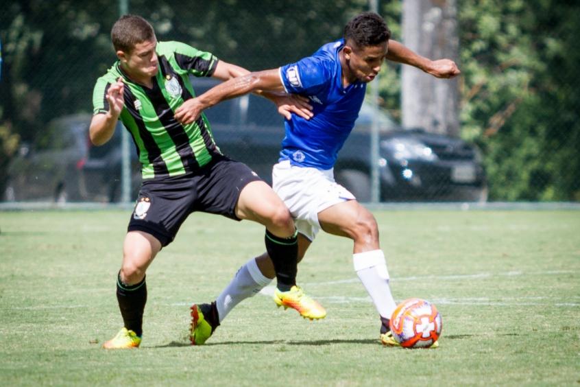 Resultado de imagem para América e Cruzeiro Sub 20
