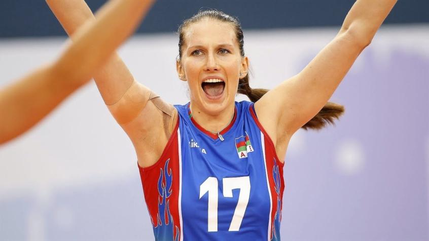 Rahimova defende seleção do Azerbaijão