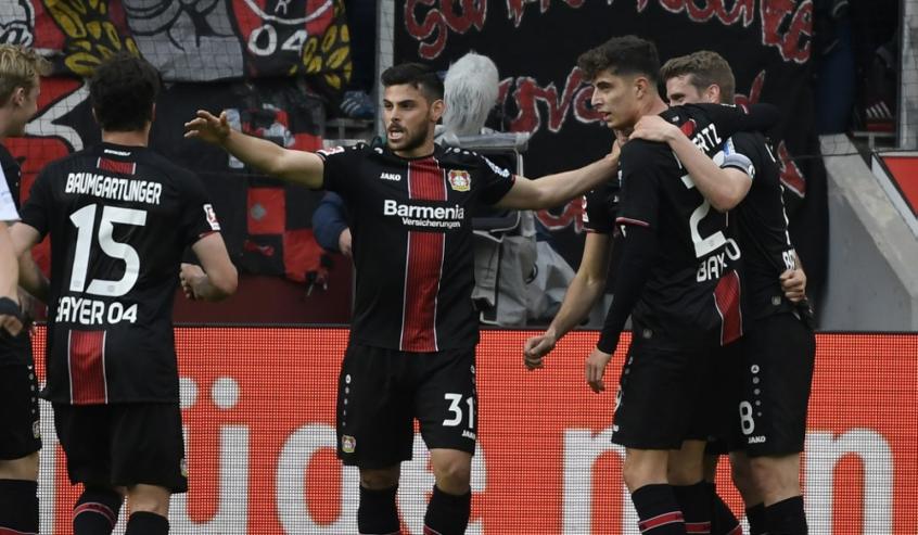 Bayer Leverkusen x Eintracht Frankfurt