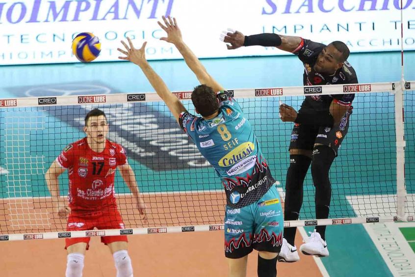 Leal em ação na final do Italiano
