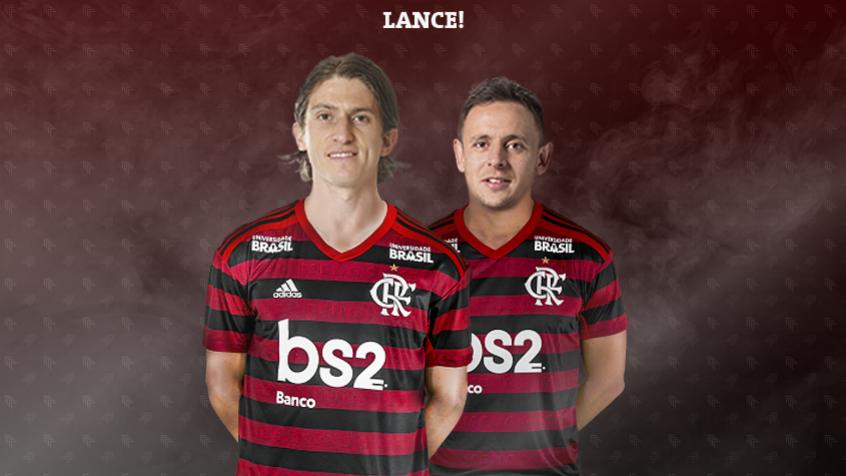 Montagem Flamengo