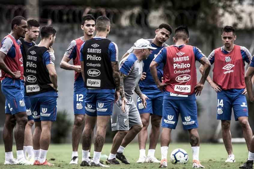 Treino do Santos 13/5 - Jorge Sampaoli