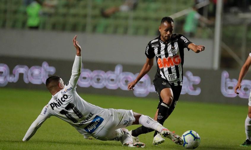 Galo E Santos Empatam Sem Gols Na Ida Das Oitavas Da Copa Do Brasil Lance