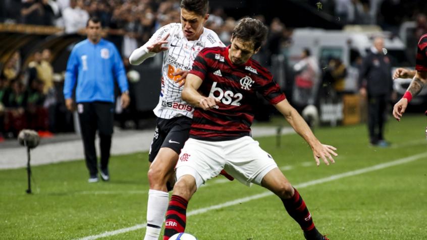 Corinthians x Flamengo Rodrigo Caio