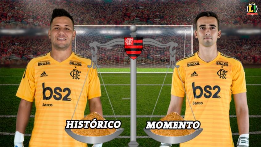 Arte - Goleiros do Flamengo (VALE ESTE)