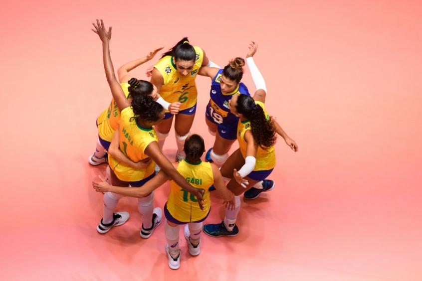 Brasil x Holanda - Liga das Nações