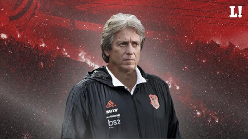 Montagem Jesus Flamengo