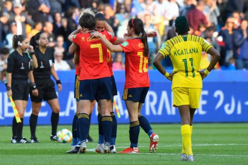 espanha x africa do sul copa do mundo feminina