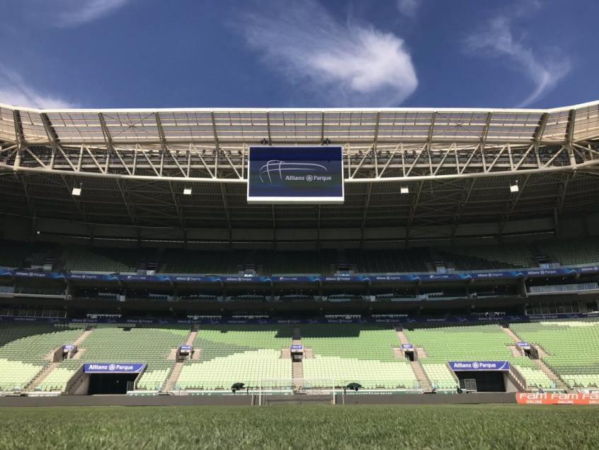 Allianz Parque receberá o confronto entre Palmeiras e Avaí, pela nona rodada do Campeonato Brasileiro