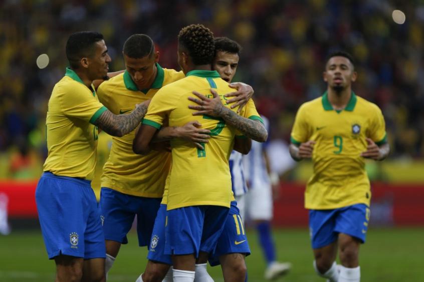 Brasil x Honduras