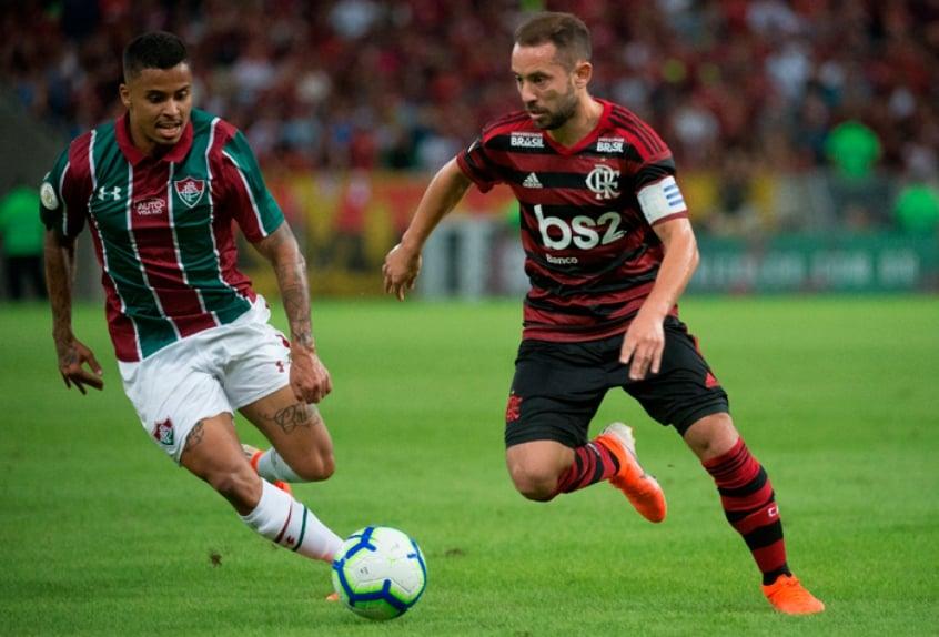 Fluminense x Flamengo - Everton Ribeiro