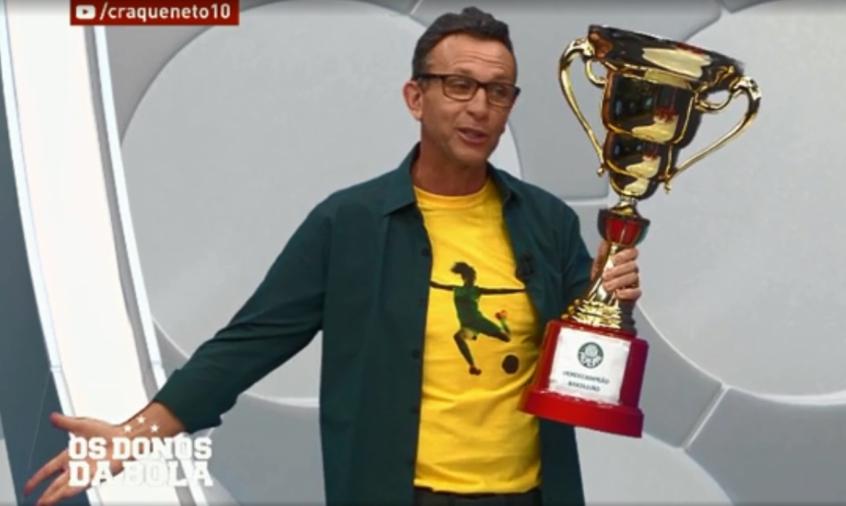 Neto crava título do Palmeiras e afirma: