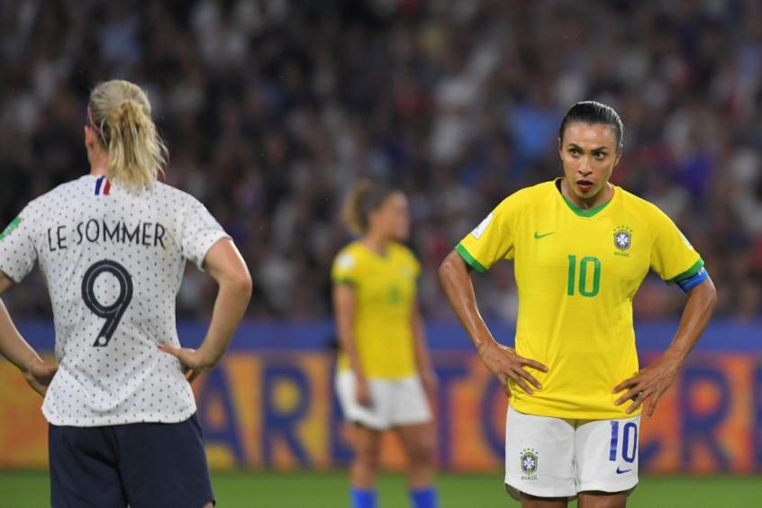 Brasil x França - Marta x Le Sommer