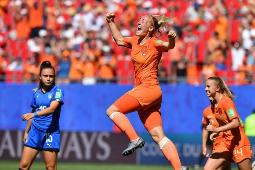 Holanda Bate Italia E E Semifinalista Da Copa Do Mundo Feminina Lance