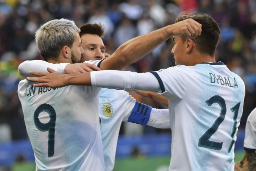 Argentina x Chile - Comemoração