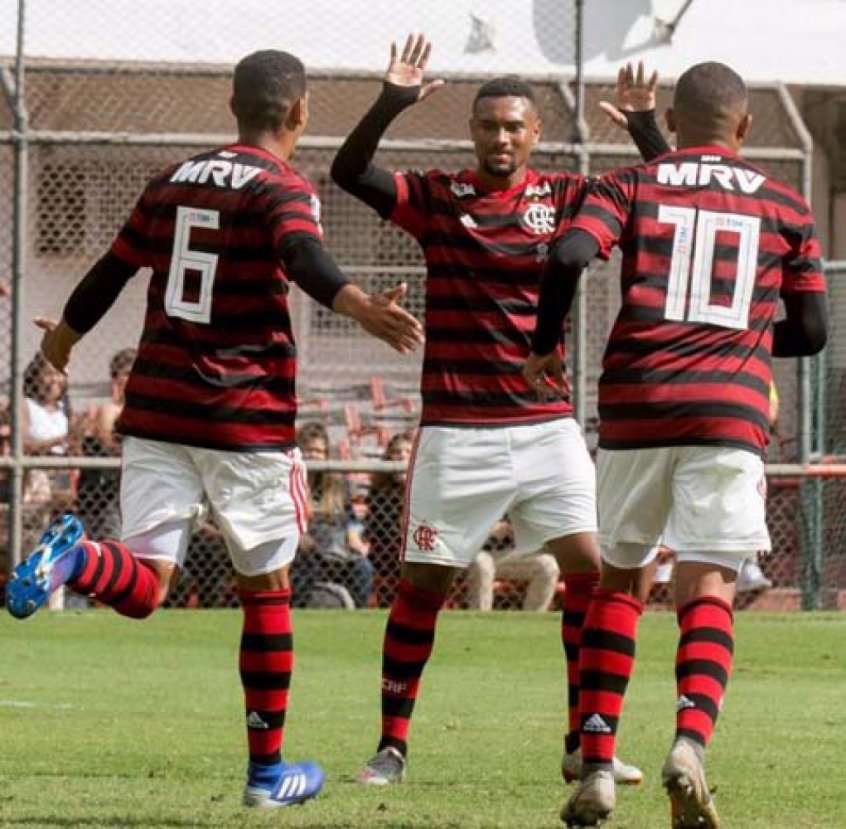 Flamengo x Fluminense sub 20
