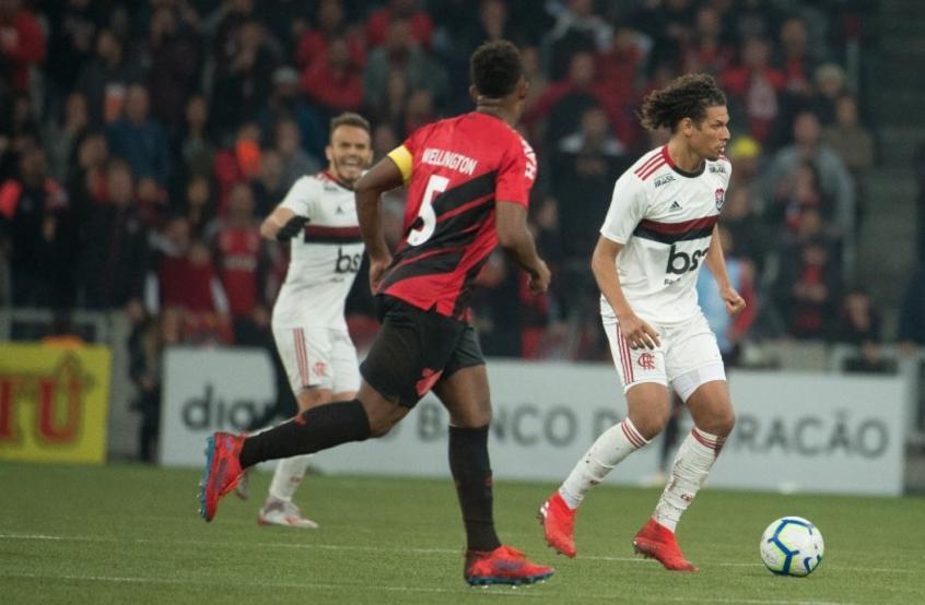 Willian Arão - Athletico x Flamengo